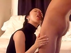 Asian wife oral and drill part 1