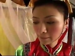 Chinese Emperor pounds Cocubines