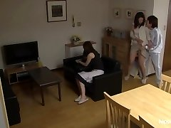 MILF gets boned while her pal tapes it