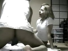 Korean Guy fucks blond stewardess