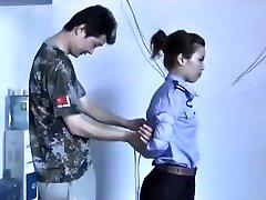 3 Chinese Ladies Playing In Bondage