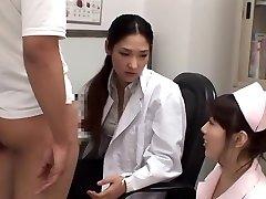 Exotic Asian chick Rina Fukada, Haruna Saeki, Maki Mizusawa in Best Jizz Shot, Threesome JAV movie