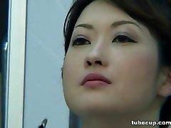 Cosplay Porn: Asians Nurses Cosplay Japanese Cougar Nurse Nailed Doctors Office part 1