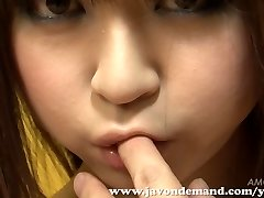 Sweetie Mahiru Hino Masturbated Until She Squirts