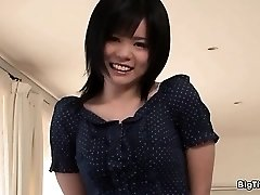 Big-chested asian slut goes crazy showing off part2