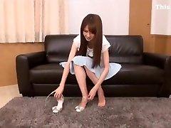 Japanese foot licking