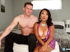 Asian granny ravage younger and teaching them some very hot tricks