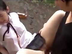 Petite Japanese Teenagers In Schoolgirl Uniform Abused &amp_ Fucked Hard