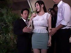 Exotic Asian slut Anri Okita in Incredible JAV censored Fingering, Hairy pin