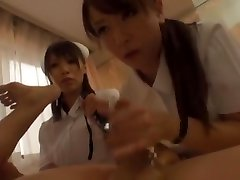 Incredible Japanese damsel Yuria Shima, Azusa Ito in Incredible Nurse, Rimming JAV video