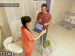 Erotic Chinese Nuru Massage on Caught on Spycam