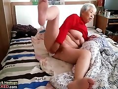 granny with dude