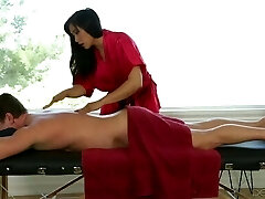 Japanese Babe Mia Li Giving Massage