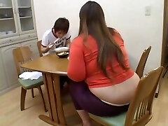 Immense Japanese broad enjoys dicking