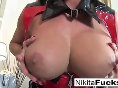 Nikita Von James in Blonde Ultra-cutie With Junk Fun Bags Plays With Her Pussy And Sex Fucktoy - NikitaVonJames
