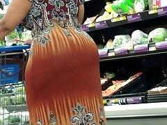 Mature yam-sized booty shopping 3