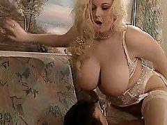 British BBW Kirsten Halborg anal plowed face jizzed