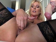 Amazing pornstar in Horny Getting Off, Stockings xxx scene