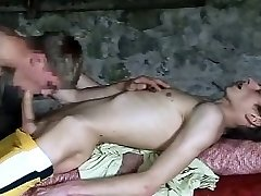 two nice cock youthfull twinks in the boat building
