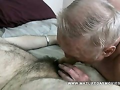 Lush Grandad Gets His Ass Stuffed