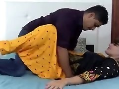 Indian hindi sister in law dry fucky-fucky with stepbrother (Hindi )