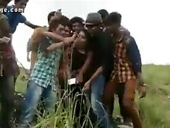 men playing with talli girl