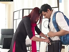 Niks Indian In Naughty Student Punished By School Teacher Rita