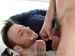 GayCastings Casting agent ravages Brody Fields tight asshole