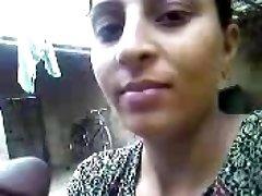 Indian village Girl inhaling + Bath pics