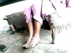 Indian foot fetish dominatrix