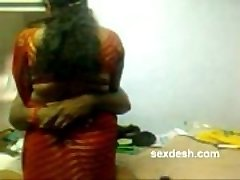 Romantic Dharmapuri Sivaraj with plump Tamil Aunty