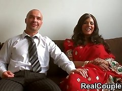 Desi Indian is banged hard by hubby