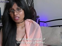 Horny Mom-stepson Roleplay in Hindi (with English subtitles)