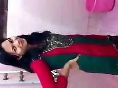 desi girl showing body in bathroom