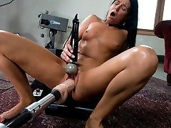 Crazy fetish, milf xxx clip with unbelievable pornstar India Summer from Fuckingmachines