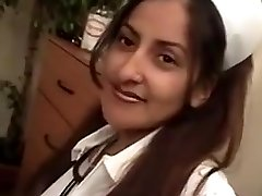 Mature indian nurse loves threesome