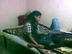 Indian College Girl Vaishali Boinking with her boyfriend
