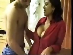 Indian Secretary Deepthroats And Fucks