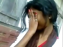 Desi Indian Dame Oral Pleasure Her BF Outdoor
