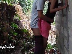 sri lankan school duo after college public outdoor leaked නැන්දගෙ දුව