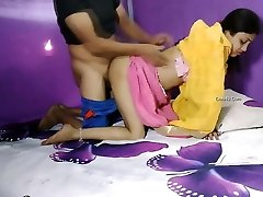 Indian couple super hot romance in room
