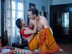 Wife homemade sex very warm red saree full romance fuck mastram web series
