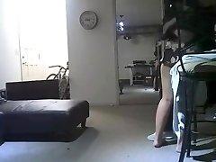 Hotwife wife husband catch him hidden camera