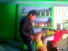 Desi married bhabhi salma cheating with neighbor bf mms smooching