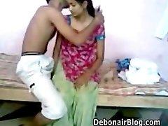 Indian couple gonzo fucked
