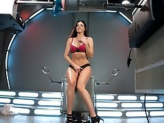 Exotic cougar, fetish xxx clip with horny pornstar India Summer from Fuckingmachines