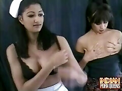 Indian Nurse Gets It On With Another Nurse