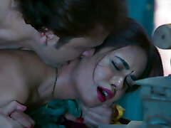 Dhoban aur Sarpanchキャッチによって彼女のHubby Goluやって野生セックス