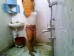 Sexy Indian College Babe In Hostel Shower MMS