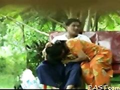 Lankan Hora matured Couple